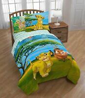 Lion King Twin/Full Reversible Comforter Sham Set w/ Simba Pumbaa Timon Nala NEW