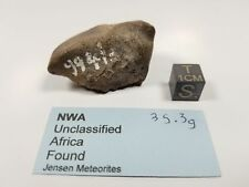 NWA whole stone 35.3 grams unclassified Old Sahara number 9941?