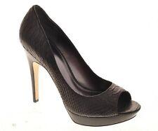 LDN_VIA SPIGA  Magnifique escarpins a talon noir cuir_8.5_38.5/39_val.210€ -60%
