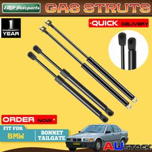 4x For BMW 3 Series M3 E36 1990-1999 Front Bonnet & Rear Tailgate Gas Struts