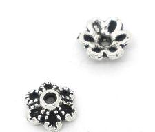 300 Perles Coupelles Fleur 6x2.8mm (pour Perle 8-12mm)