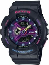 Casio G-Shock Baby-G BA110TM-1A Ana-Digi Skeleton Multi-Color Dial Resin Watch