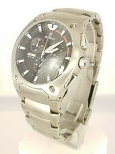 Festina Modele Depose 6718 men's Titanium Chrono watch analog 10 ATM