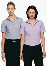 Polyester Checked Machine Washable Tops for Women