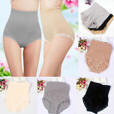 Black Women High Waist Body Shapers Slimming Shapewear Tummy Panties Knickers