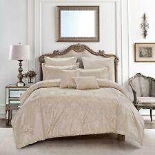 Hgmart Soft Bedding Comforter Set Luxury Bed In A Bag ,King Size, Ferda,7 Piece