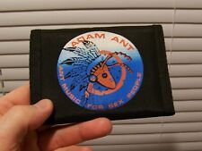 NEW Vintage 1980s ADAM ANT LP Art Nylon Bi-Fold Music Wallet Hook Loop Closure