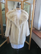 Natural Brown Shadow Mink Coat M