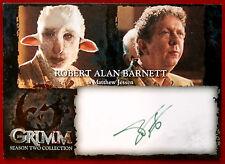 GRIMM - ROBERT ALAN BARNETT (GREEN INK) (Matthew Jessen) - AUTOGRAPH CARD (RBA)