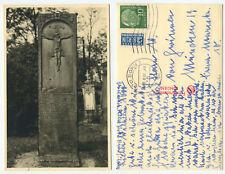 38025 - Lunden (?) - Grabstein - Echtfoto - AK, gelaufen Bonn 20.9.1954