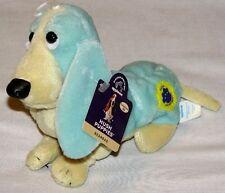 APPLAUSE  -  BEAN BAG - Retired - Hush Puppies - Dog -  Top Aqua - 151