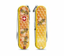 0.6223.L1702 VICTORINOX SWISS ARMY POCKET KNIFE Classic 2017 Honey Bee NEW 2017