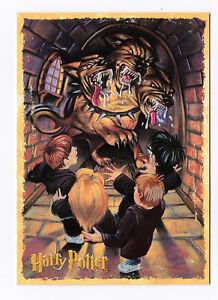 HARRY POTTER  carte postale n° PC0419 EDITEE EN 2001 CHIEN A TROIS TETES TOUFFUE