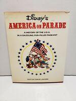 Vintage Disney's America on Parade US History David Jacobs 1975 1st Edition Book