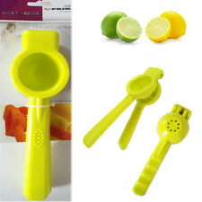 Citrus Lemon Squeezer Green PRIMA Kitchen Utensil Lime Juice Maker Hard Plastic