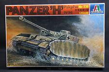 XT047 ITALERI 1/35 maquette tank char 236 Panzer H Pzkpfw IV (H)