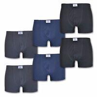 6 boxer elasticizzati uomo in cotone colore assortito e misure varie