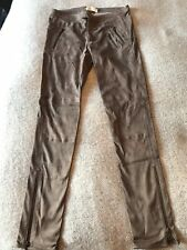 Rabens Saloner Soft suede Trousers Small NEW