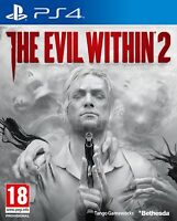 THE EVIL WITHIN 2 PS4 EN CASTELLANO ESPAÑOL NUEVO PRECINTADO