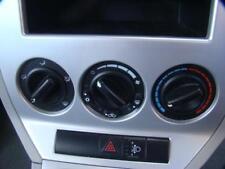 DODGE CALIBER HEATER/ AIR CON CONTROLS PM, STANDARD TYPE, 08/06-12/12