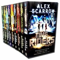 TimeRiders Collection Alex Scarrow 9 Books Set Gates of Rome, Time Riders ...