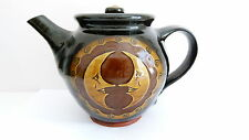 John Pollex 20th Century Studio Pottery - Slipware Decorated Teapot