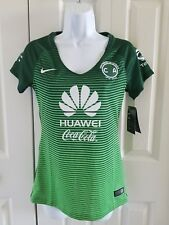 Nike Women's Club America 2016-17 Women Home Soccer Jersey Green