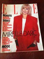 Rivista Magazine Elle France 28 Mars 1983 N.1942 Mireille Darc M. Trintignant