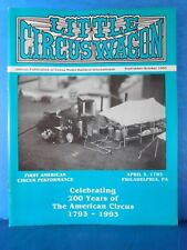 Little Circus Wagon 1993 Sept Oct Circus Model Builders International