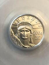 2004 PCGS MS69 Statue of Liberty $10 Platinum Coin