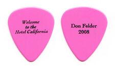 Eagles Don Felder Hotel California Pink Guitar Pick - 2008 Solo Tour