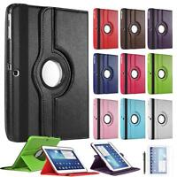 "360 Rotate Leather Stand Case Cover For Galaxy Tab 3 10.1"" P5200 P5220 P5210"