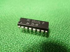 Motorola MC10131P DUAL tipo D Master-Slave Flip-Flop IC