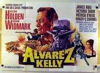 ALVAREZ KELLY (AO-Kinoplakat '66) - WILLIAM HOLDEN / RICHARD WIDMARK / WESTERN