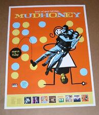 Mudhoney Best of and Rarities Promo Original Poster 21x28