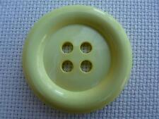 """4 x 50mm grandi pulsanti CLOWN Limone Taglia 80 (2"""")"""