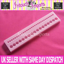 New Beads Double Row Border Silicone Mould For Sugarcraft Cake Decorating