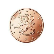 Pièces euro de la Finlande pour 5 Cent année 2000