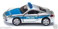 Siku 1416 Autobahn Streifenwagen Maßstab 1:55 Porsche Polizei Einsatzfahrzeug