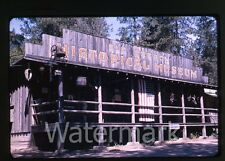 1964 Kodachrome  Photo slide  Old Oregon Historical Museum Gold Hill OR