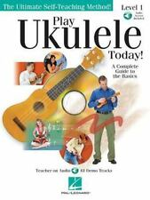 Play Ukulele Today! : A Complete Guide to the Basics Level 1 by Barrett...