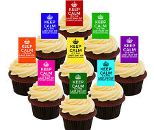 Primary School Graduation, 32 Edible Cupcake Toppers, Stand-up Cake Decorations