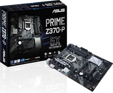 Asus PRIME Z370-P Intel Z370 Socket LGA 1151 ATX DDR4 PC Gaming Motherboard