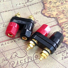 Dual Female Banana Plug Terminal Binding Post For Speaker Amplifier Useful Tools