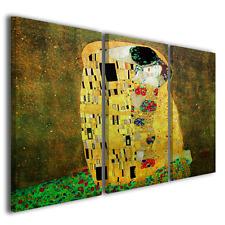 Quadri moderni Il Bacio Gustav Klimt stampe su tela canvas ® quality
