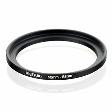 RISE(UK) 52mm-58mm 52-58 mm 52 to 58 Step Up Ring Filter Adapter