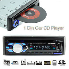 Estéreo Radio de coche DVD/CD ROM Reproductor MP4/MP3 1 Din Bluetooth USB/AUX/SD