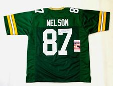 JORDY NELSON AUTOGRAPHED SIGNED PRO STYLE JERSEY W/ JSA COA #WPP892581