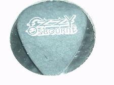 Ozzy Osbourne Logo & Zakk Wylde Signature RaRe Old Concert Tour Guitar Pick Bls