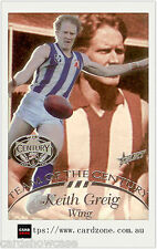 1996 Select AFL Hall Of Fame Team Of The Century Platinum TC10 Keith Greig